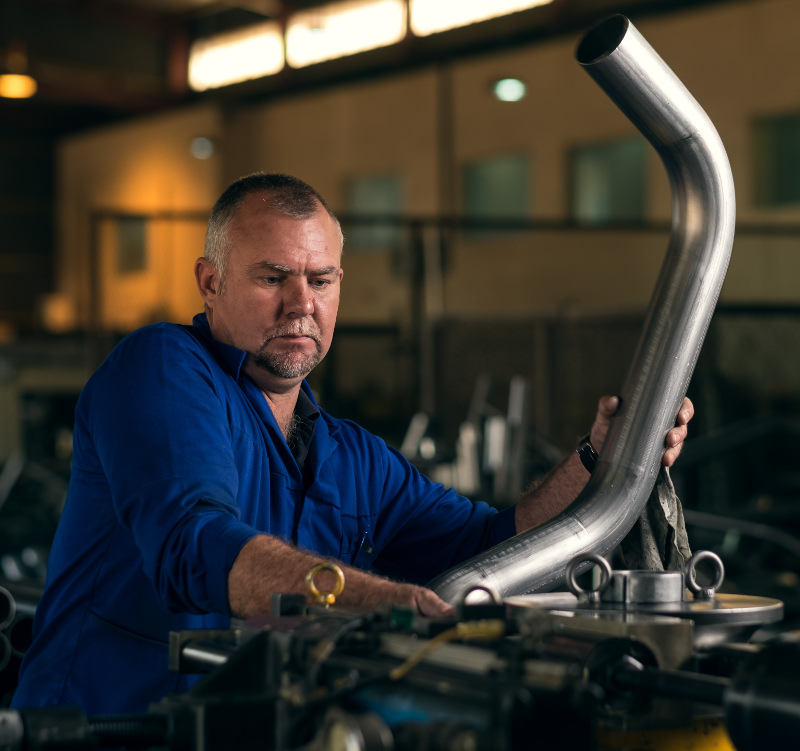 custom manufactured performance exhaust systems