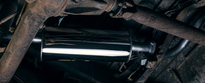 Customized performance exhaust - Land Cruiser